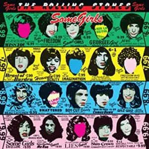 SOME GIRLS BY THE ROLLING STONES VINYL